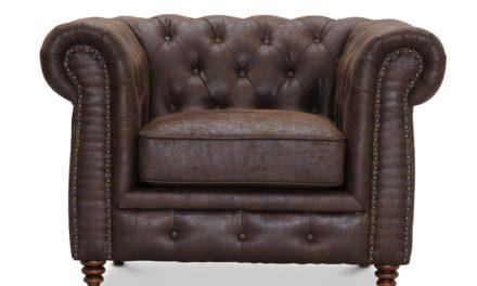 Cambridge stol – brun