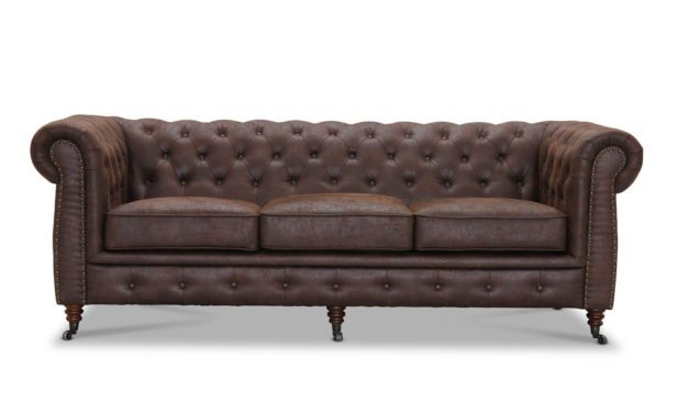Cambridge 3 pers. sofa – brun