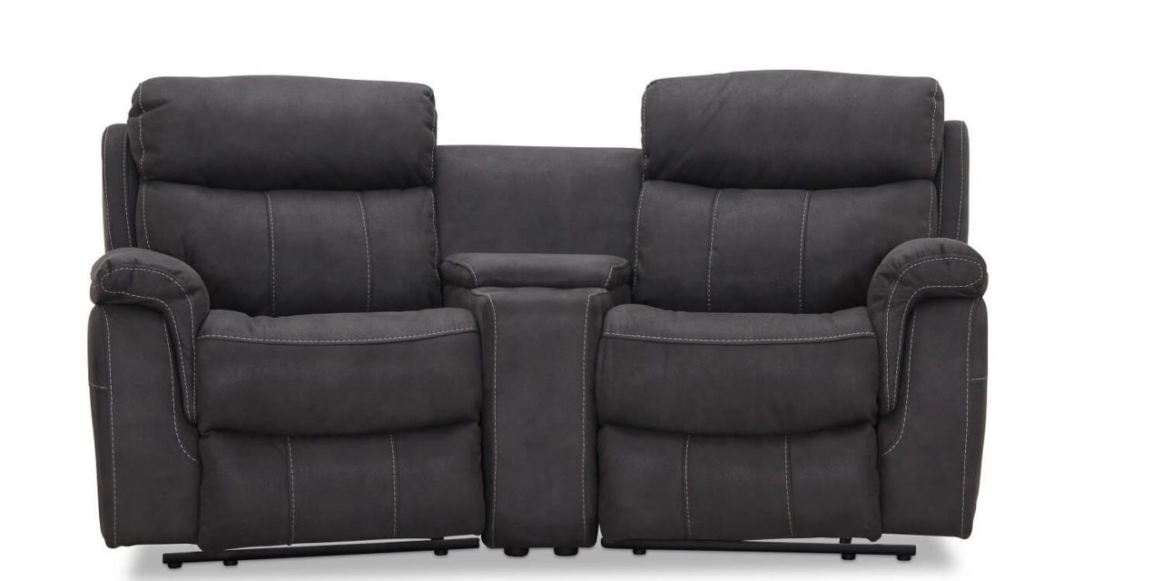 Arizona Biograf sofa recliner grå – 2 pers