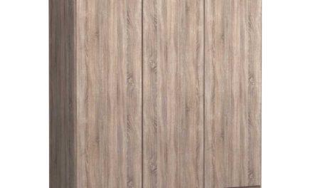 Mary Garderobeskab 3 låger + 2 skuffer, trøffel