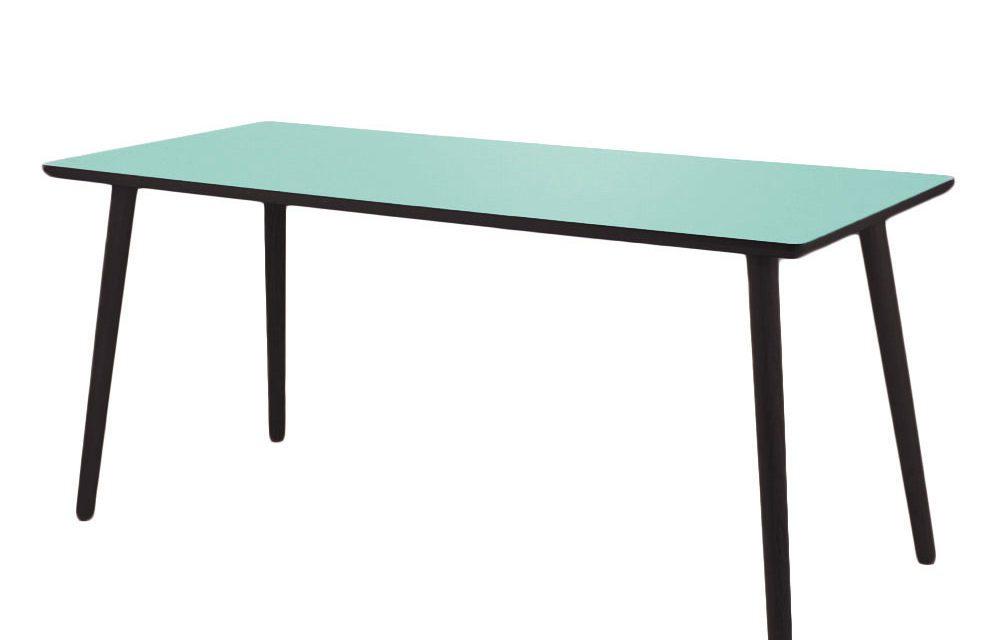 BY TIKA Dusty jade Skrivebord – højtrykslaminat