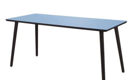 BY TIKA just blue Skrivebord – højtrykslaminat