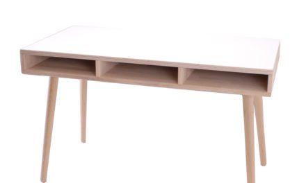 BY TIKA Portland Skrivebord med 3 rum