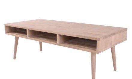 BY TIKA Belfort sofabord med hylde og 3 rum