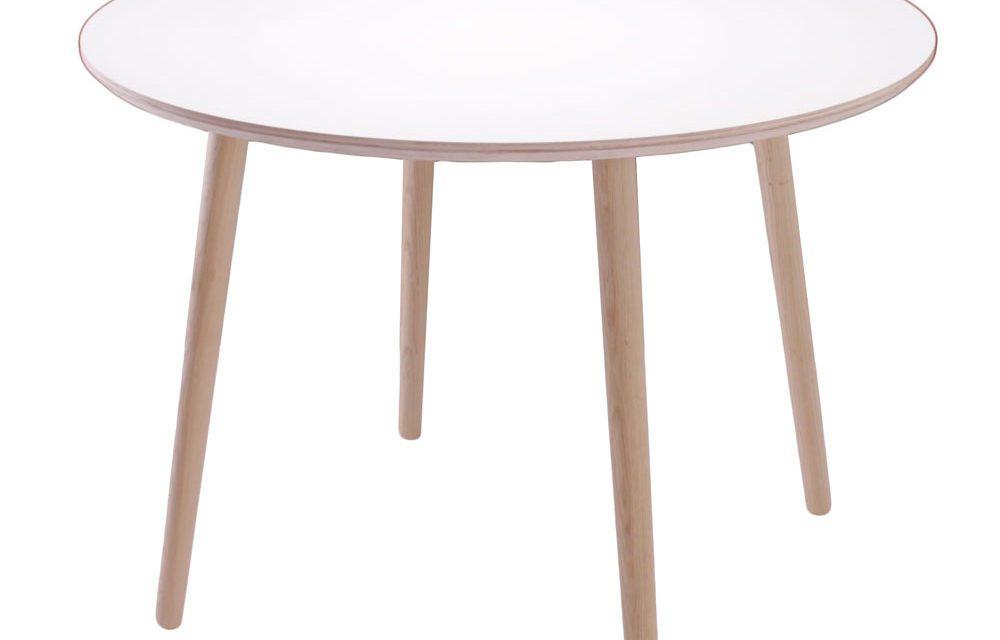 BY TIKA Karlstad Rundt spisebord med egeben