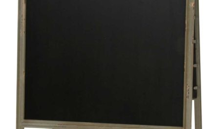 IB LAURSEN A-skilt tavle metal stander