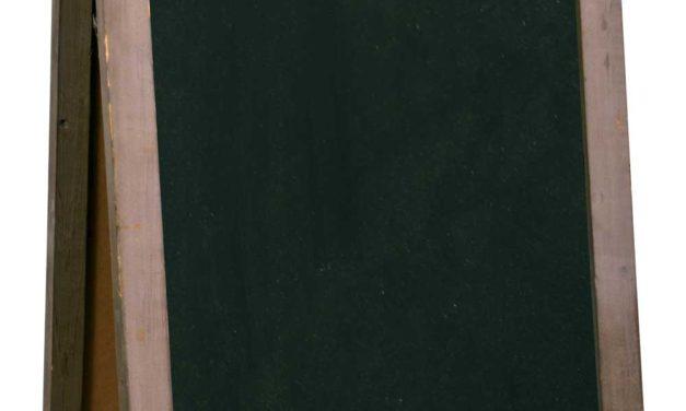IB LAURSEN A-skilt med tavle på begge sider