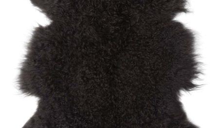 IB LAURSEN Tibetansk lammeskind mørkegrå