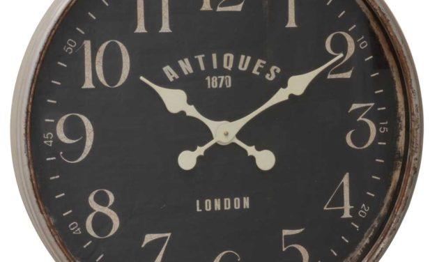 IB LAURSEN Vægur Antiques 1870 London