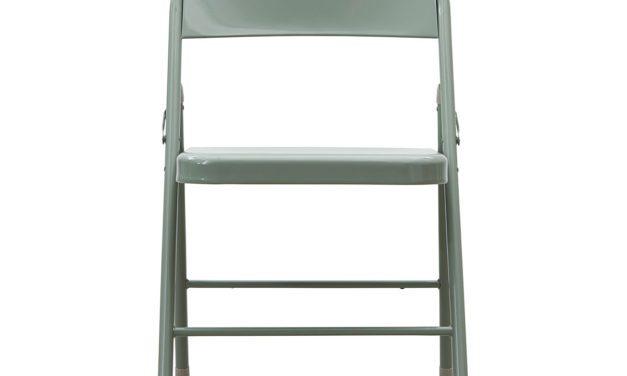 House Doctor Fold It klapstol i flot armygrøn metal