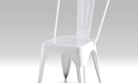 Korona Hvid Spisebordsstol