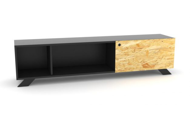 K2 Depot – 1800-1 Skråben Sort Originale K2 låger