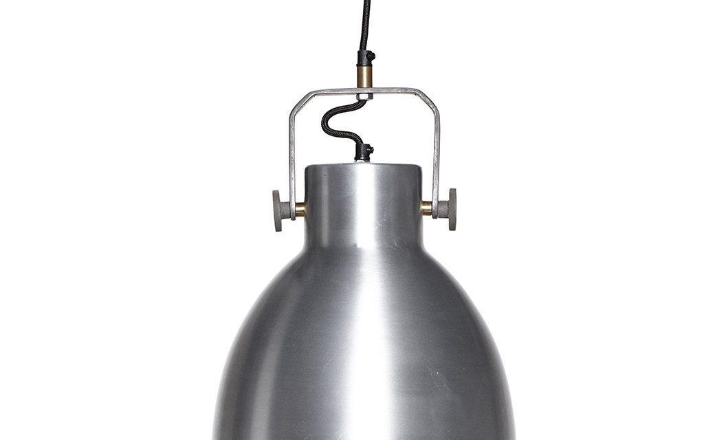 HÜBSCH Lampe, sølv