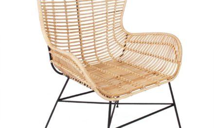 Opus stol, natur rattan