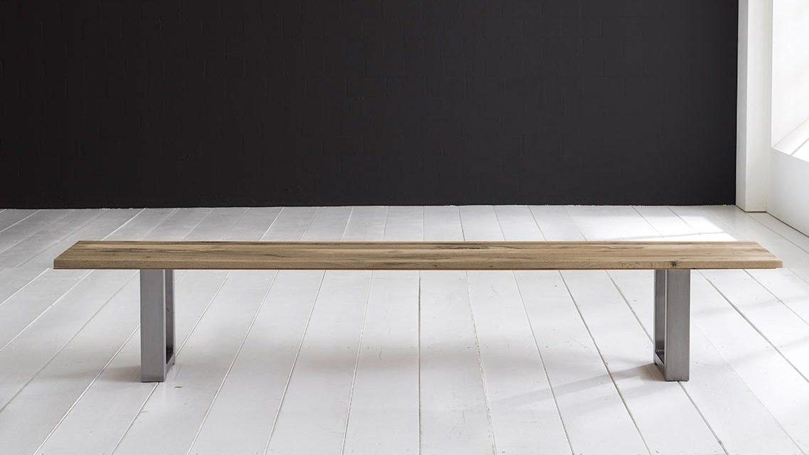 Concept 4 You Spisebordsbænk – Manhattan ben 180 x 40 cm 3 cm 04 = desert
