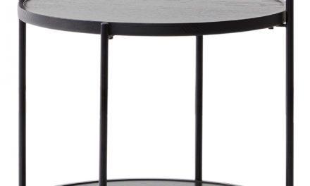 Andersen Furniture sort bakkebord i flot massiv ask
