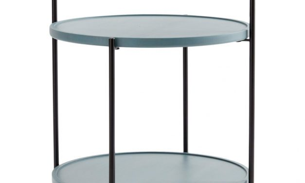Nu er den her – Tidløst petroleumsfarvet bakkebord fra Andersen Furniture
