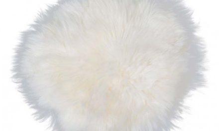 New Zealand rund skindhynde, hvid
