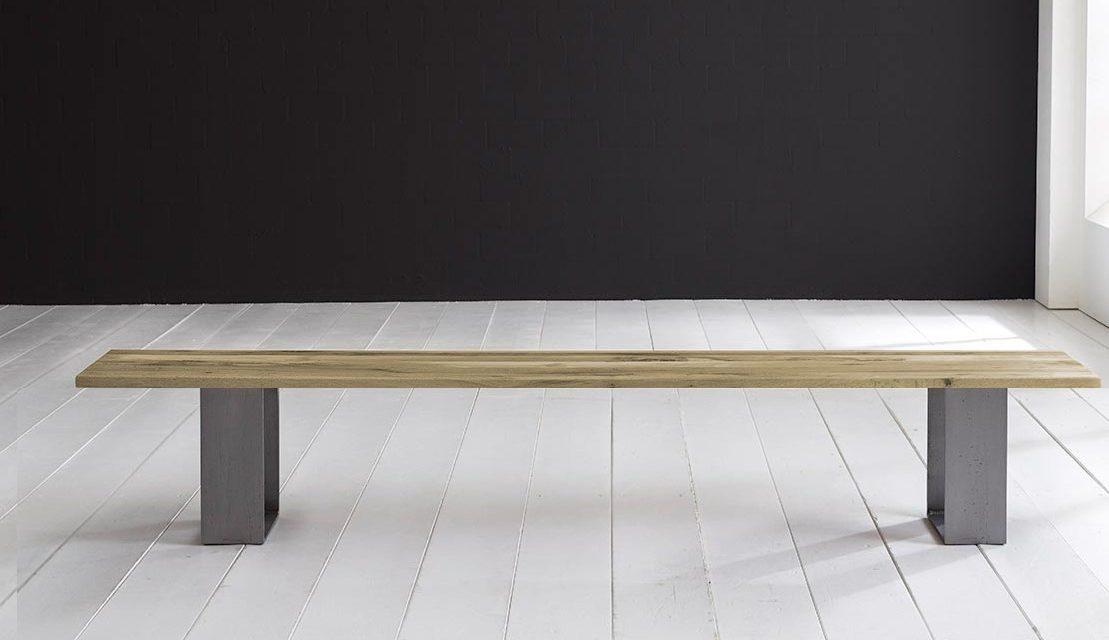 Concept 4 You Spisebordsbænk – Houston ben 240 x 40 cm 3 cm 05 = sand