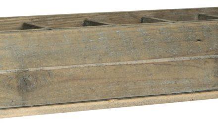 IB LAURSEN Kasse m/12 rum og metalhåndtag