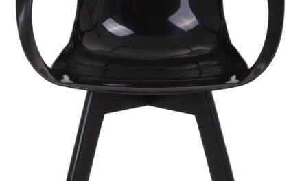 Tomcat spisebordsstol, sort/sort