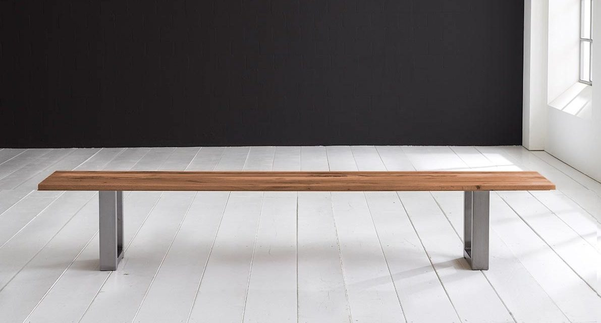 Concept 4 You Spisebordsbænk – Manhattan ben 200 x 40 cm 3 cm 06 = old bassano