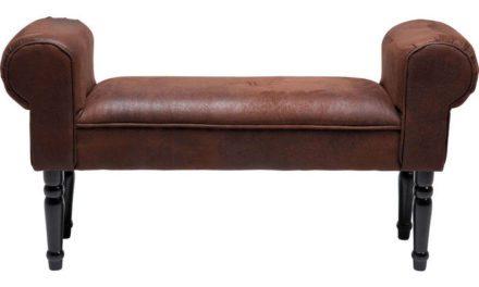 KARE DESIGN Bænk, Wing Vintage Brun