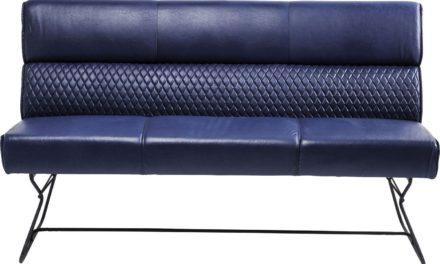 Sofabænk med ryglæn Melange 180 cm