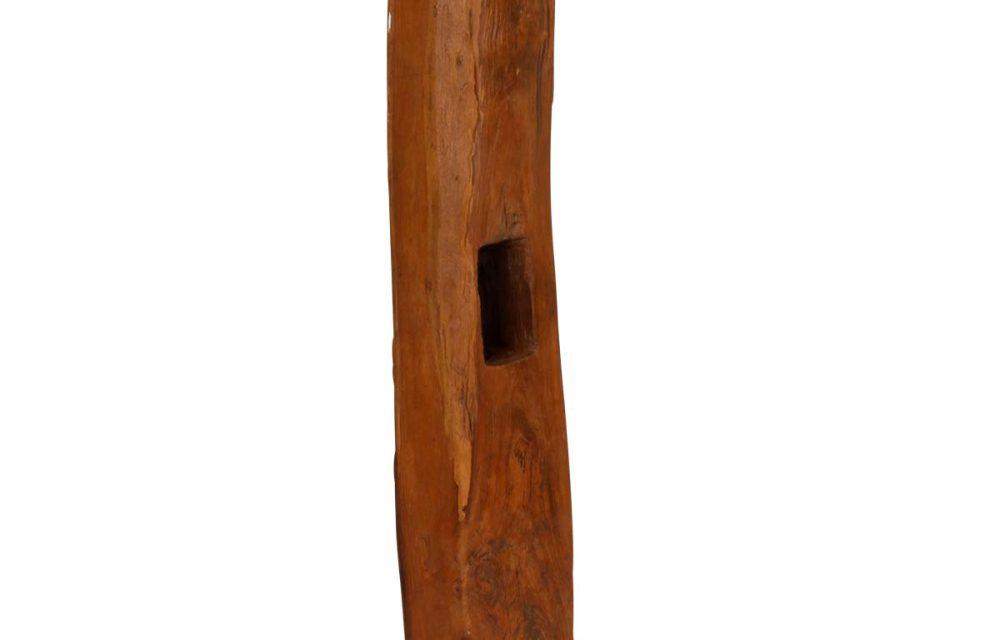 Wood træpæl på fod, 130-160 cm