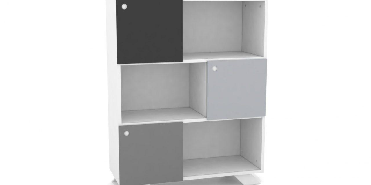 K2 Depot – 900-3 Skråben Hvid Monokrome låger