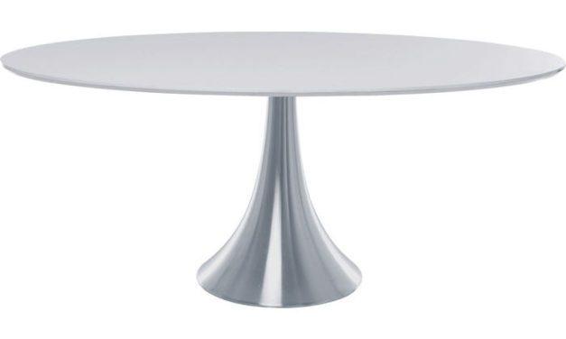 Grande Possibilita Spisebord – oval hvid