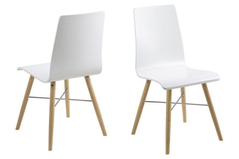 Milton spisebordsstol – hvid