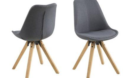 Dima spisebordsstol, mørkegrå
