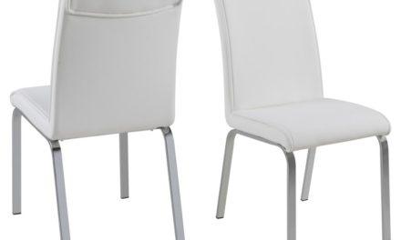 Leonora spisebordsstol – hvid