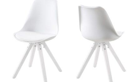 Scramble spisebordsstol – hvid