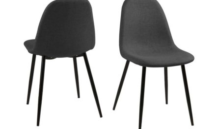 Wilma spisebordsstol – grå