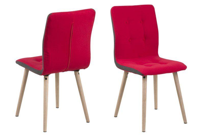 Frida spisebordsstol – rød