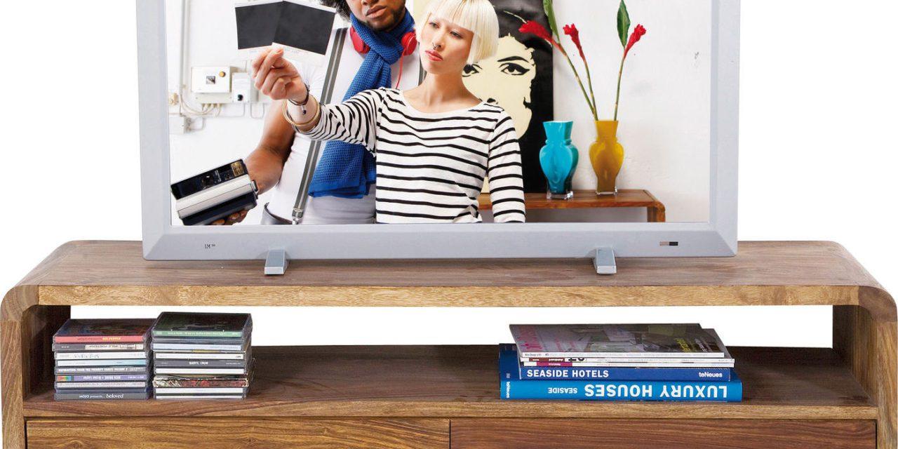 Authentico Club TV-bord i sheeshamtræ – 2 skuffer & 1 hylde