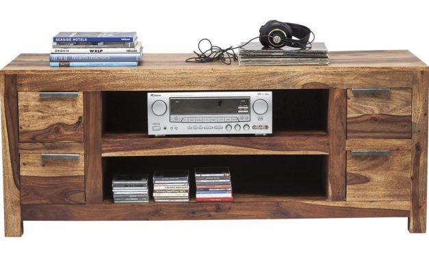 KARE DESIGN Authentico TV-bord i sheesham træ med 2 store midterrum