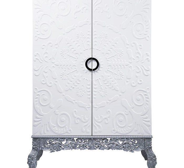 KARE DESIGN Showtime Ornament skab i hvid