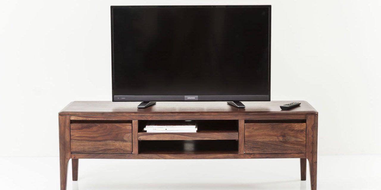 KARE DESIGN Brooklyn TV-bord – valnød m. 2 skuffer og midterrum