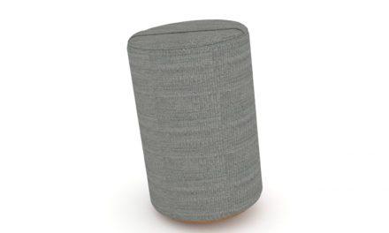 JENSENPLUS K2 puf, ergonomisk – Lys grå