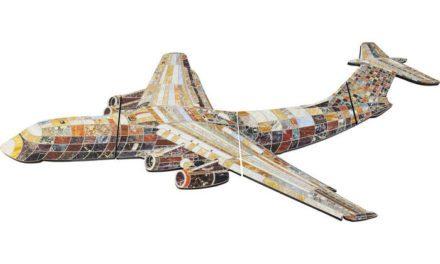 KARE DESIGN Vægdekoration, Crazy Airplane
