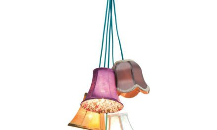KARE DESIGN Saloon Flowers 5 loftslampe