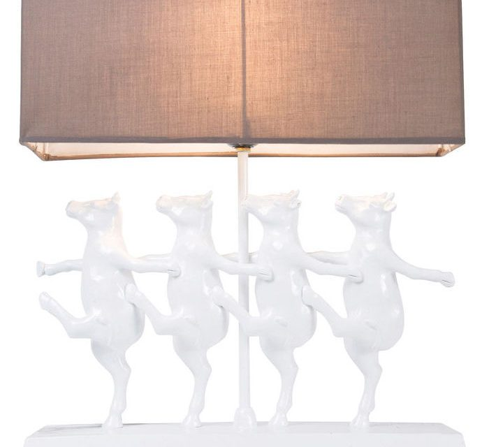 KARE DESIGN Bordlampe, Dancing Cows