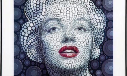 KARE DESIGN Billede, 3D Marilyn 60x60cm
