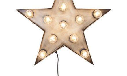 KARE DESIGN Lysskilt, Star 11-lite