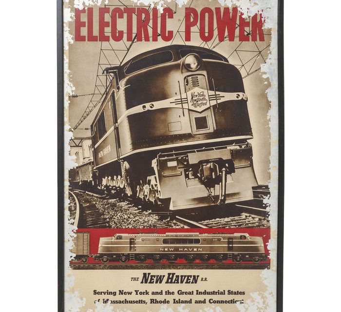 KARE DESIGN Billede m. ramme, Electric Power New Heaven