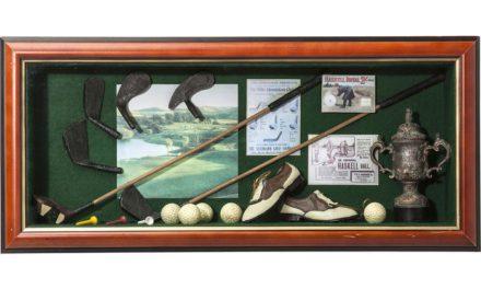 KARE DESIGN Vægdekoration Deco Shadow Box Golfer
