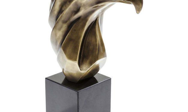 Så er den her – Pæn Eagle skulptur fra Kare Design